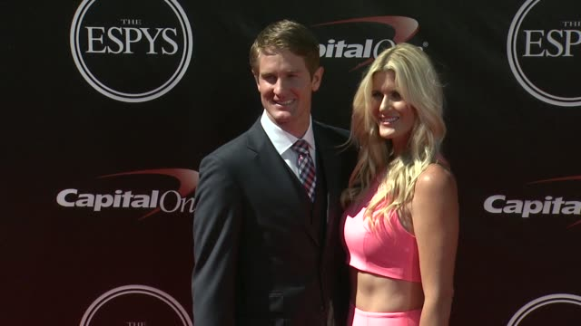 vídeos de stock, filmes e b-roll de ryan hunterreay at the 2014 espy awards in los angeles ca - espy awards