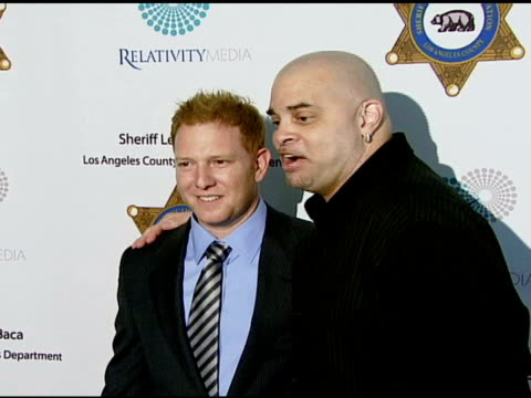 vídeos y material grabado en eventos de stock de ryan kavanaugh and sinbad at the 23rd annual 'salute to youth' hosted by sheriff baca's foundation at null in beverly hills california on april 24... - sinbad