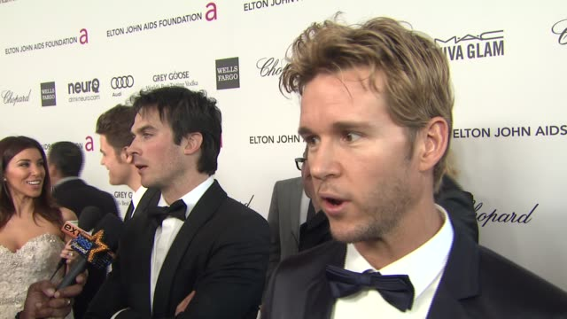 INTERVIEW Ryan Kwanten at Elton John AIDS Foundation Presents 21st Annual Academy Awards Viewing Party Sponsored By Chopard Neuro Drinks And Wells...