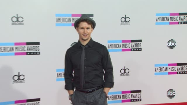 ryan kwanten at the 2010 american music awards arrivals at los angeles ca - american music awards stock videos and b-roll footage
