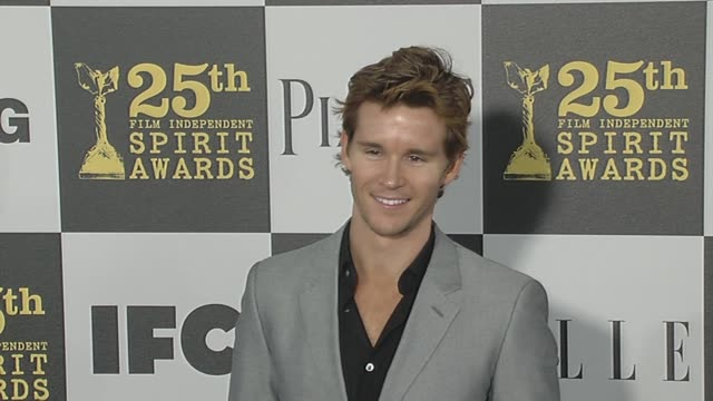 ryan kwanten at the 2010 film independent's spirit awards - arrivals at los angeles ca. - independent feature project stock videos & royalty-free footage