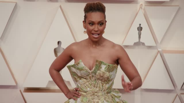 ryan michelle bathe at the 92nd annual academy awards at dolby theatre on february 09 2020 in hollywood california - academy of motion picture arts and sciences stock videos & royalty-free footage