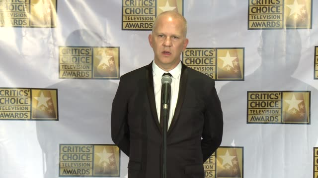 ryan murphy at the 2014 critics' choice television awards at the beverly hilton hotel on june 19, 2014 in beverly hills, california. - the beverly hilton hotel stock-videos und b-roll-filmmaterial