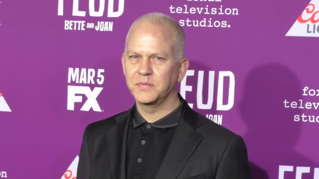 """ryan murphy at the premiere of fx network's """"feud: bette and joan"""" at tcl chinese theatre on march 01, 2017 in hollywood, california. - fx network stock videos & royalty-free footage"""