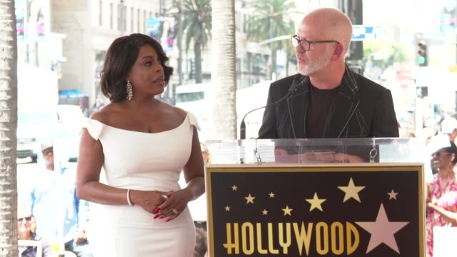 INTERVIEW Ryan Murphy on the amazing journey Niecy has taken at the Niecy Nash Honored with a Star on the Hollywood Walk of Fame on July 11 2018 in...