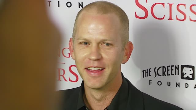 ryan murphy writer/director/producer at the tristar pictures presents 'running with scissors' los angeles premiere at academy of motion picture arts... - tristar pictures stock videos and b-roll footage