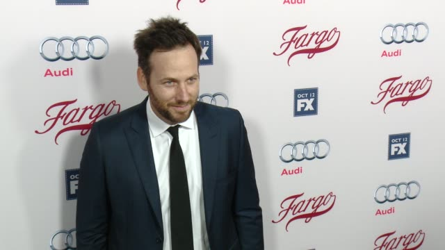 ryan o'nan at fx's fargo los angeles premiere at arclight cinemas on october 07 2015 in hollywood california - arclight cinemas hollywood stock videos & royalty-free footage