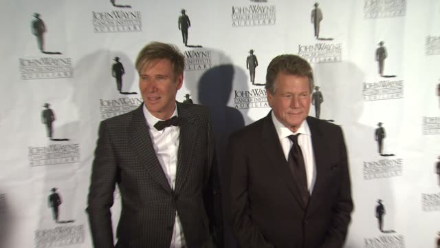 ryan o'neal and lawrence piro at john wayne cancer institute 27th annual odyssey ball ryan o'neal and lawrence piro at john wayne cancer at the... - the beverly hilton hotel stock videos & royalty-free footage