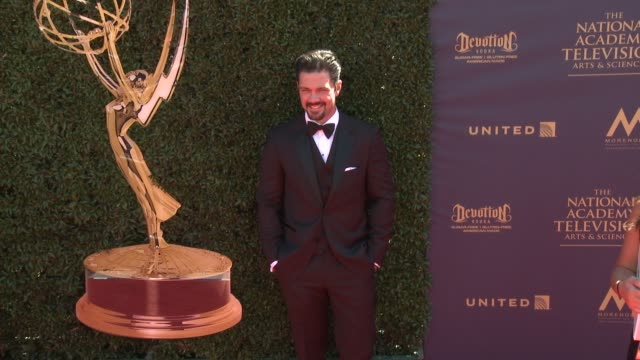 Ryan Paevey at the 44th Annual Daytime Emmy Awards at Pasadena Civic Auditorium on April 30 2017 in Pasadena California