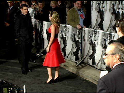 Ryan Phillippe and Reese Witherspoon at the 'Walk The Line' New York Premiere at the Beacon Theater in New York New York on November 13 2005