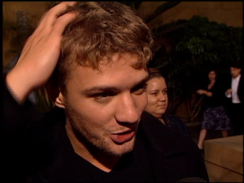 Ryan Phillippe on the movie the training he went through and his costars at the Premiere of 'The Way of the Gun' at the Egyptian Theatre in Hollywood...