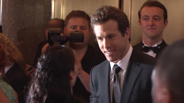 Ryan Reynolds at the 64th Annual Tony Awards at New York NY
