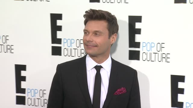 ryan seacrest at e upfront 2012 at gotham hall on april 30 2012 in new york new york - ryan seacrest stock-videos und b-roll-filmmaterial