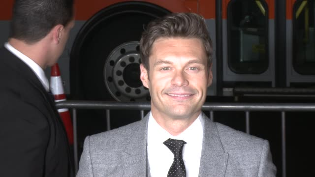 ryan seacrest at safe haven los angeles premiere on 2/5/13 in los angeles ca - ryan seacrest stock-videos und b-roll-filmmaterial