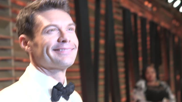 ryan seacrest at the 2014 vanity fair oscar party hosted by graydon carter arrivals on march 02 2014 in west hollywood california - ryan seacrest stock-videos und b-roll-filmmaterial
