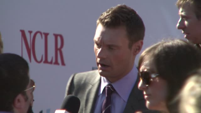 ryan seacrest at the alma awards at pasadena ca - ryan seacrest stock-videos und b-roll-filmmaterial