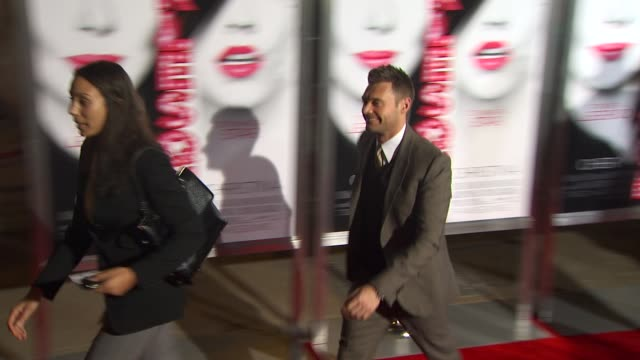 ryan seacrest at the 'burlesque' premiere at hollywood ca. - burlesque stock videos & royalty-free footage