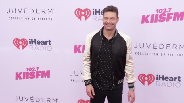ryan seacrest at the iheartradio wango tango at dignity health sports park on june 01 2019 in carson california - ryan seacrest stock-videos und b-roll-filmmaterial