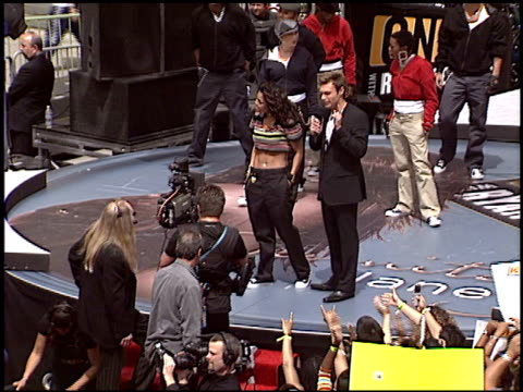 ryan seacrest at the janet jackson on air with ryan seacrest at the kodak theatre in hollywood california on april 2 2004 - janet jackson stock videos & royalty-free footage