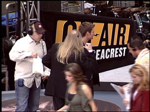 ryan seacrest at the janet jackson on air with ryan seacrest at the kodak theatre in hollywood california on april 2 2004 - ryan seacrest stock-videos und b-roll-filmmaterial
