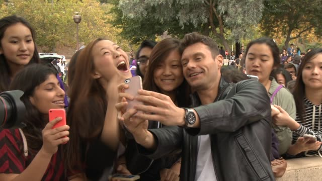 ryan seacrest at the ryan seacrest ford the recording academy and grammy foundation celebrate national semifinalist for the music educator award at... - ryan seacrest stock-videos und b-roll-filmmaterial