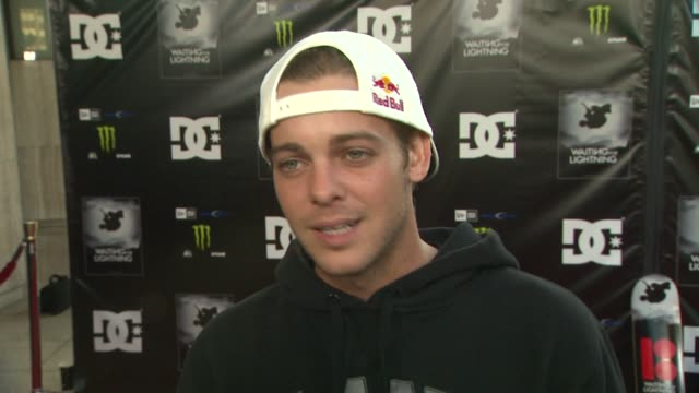 ryan sheckler on why he wanted to support the film being a fan of dannyõs what drives him to pull risky stunts how the sport of skateboarding has... - dc shoes stock videos & royalty-free footage