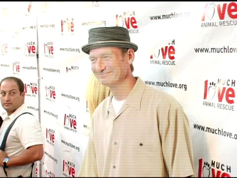 vídeos de stock, filmes e b-roll de ryan stiles at the 4th annual much love animal rescue celebrity comedy benefit at the laugh factory in hollywood california on august 10 2005 - ryan stiles