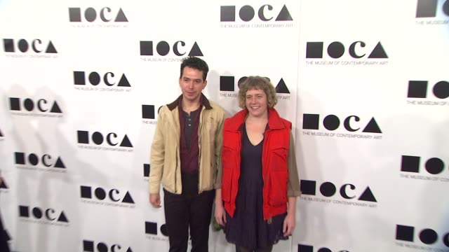 ryan trecartin at the the museum of contemporary art los angeles presents the annual moca gala at los angeles ca - los angeles museum of contemporary art stock videos and b-roll footage