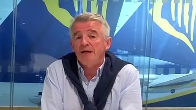 ryanair chief executive michael o'leary saying he believes people will still travel to portugal despite it being removed from the uk's coronavirus... - decisions stock videos & royalty-free footage
