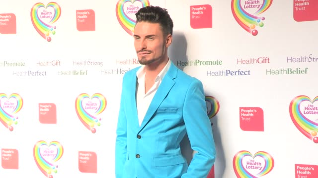 rylan clark at health lottery launch at claridge's hotel on march 28, 2013 in london, england - claridge's stock videos & royalty-free footage