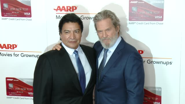 clean aarp's 16th annual movies for grownups awards in los angeles ca - morgan freeman stock videos & royalty-free footage