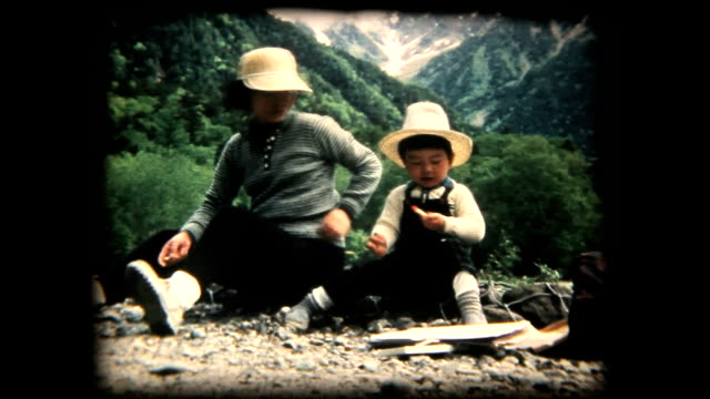 70's 8mm footage - Family trip in Kamikouchi
