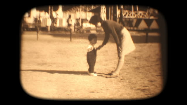 60's 8mm footage - In the amusement park