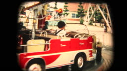 60's 8mm footage - merry-go-round