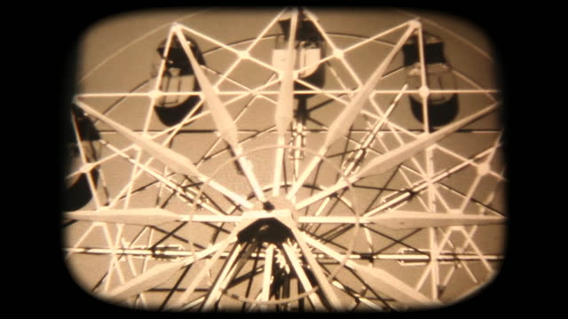 60's 8mm footage - on a ferris wheel with mom - showa period stock videos & royalty-free footage