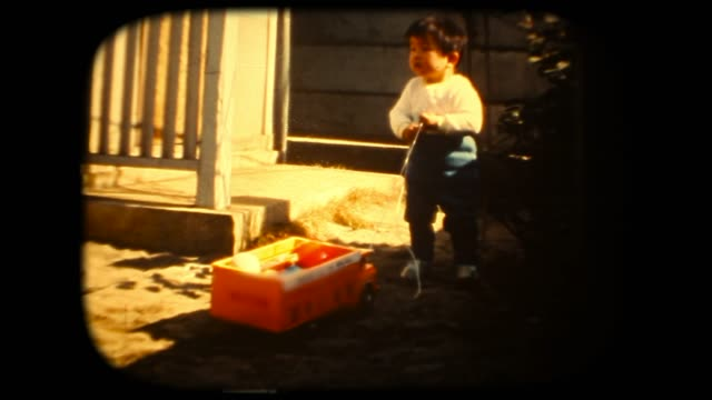 60's 8mm footage - Play with toys track