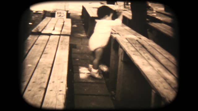 60's 8mm footage - walking in the park - nostalgia stock videos & royalty-free footage