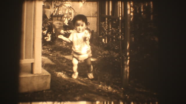 60's 8mm footage - walking