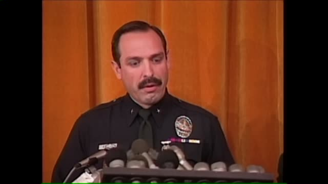 s announcement of oj simpson's disappearance on july 17, 1994. - o.j. simpson stock videos & royalty-free footage