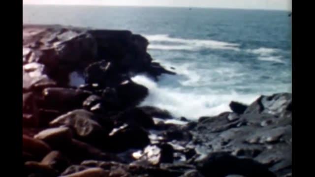 1950's ca central coast - pacific ocean stock videos & royalty-free footage