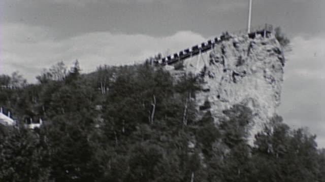 1930's castle rock, michigan - roadside stock videos & royalty-free footage
