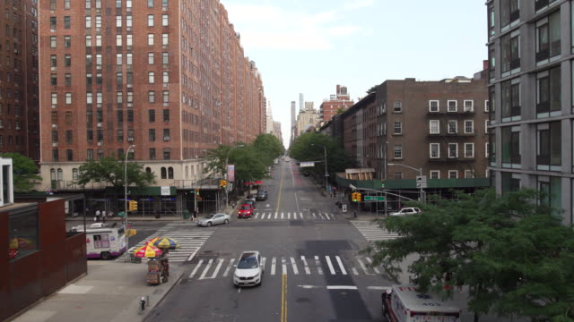 nyc's chelsea neighborhood from overhead - chelsea new york stock videos & royalty-free footage