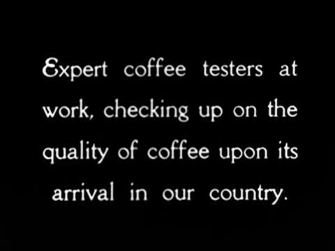 1920's - coffee tasters - choice stock videos & royalty-free footage