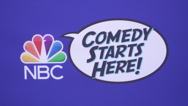 atmosphere nbc's comedy starts here event at neuehouse los angeles on september 16 2019 in hollywood california - nbcuniversal stock videos & royalty-free footage