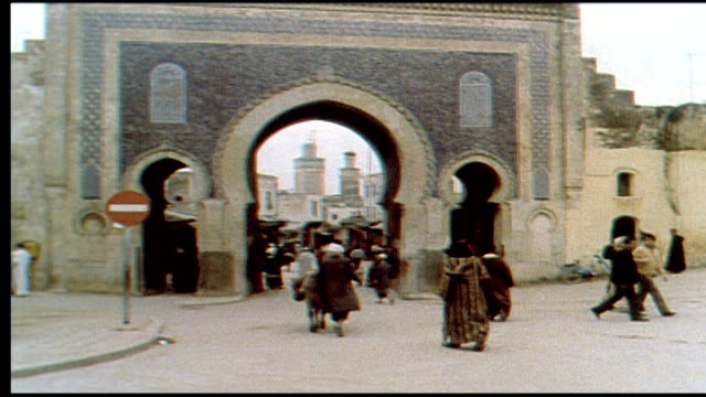 1960's fez, morocco - north africa stock videos & royalty-free footage