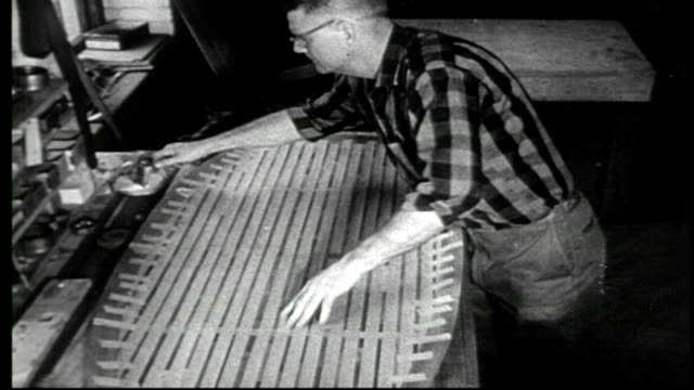 1950's furniture factory - manual worker stock videos & royalty-free footage