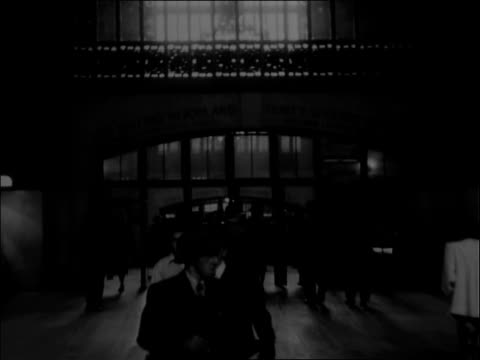nyc's grand central station - record player stock videos & royalty-free footage