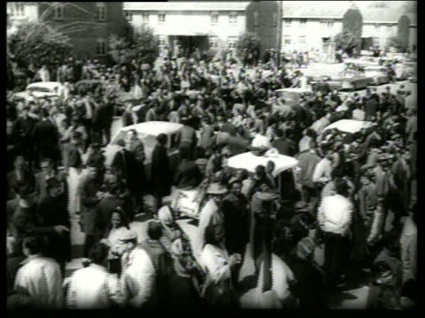 s high angle civil rights demonstration /selma, al / sound - black civil rights stock videos & royalty-free footage