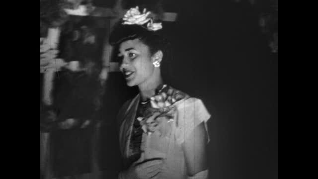 1940's - high school dance, greenwood, tulsa, oklahoma, usa - dinner jacket stock videos & royalty-free footage