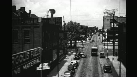 1940's industrial north philadelphia - philadelphia pennsylvania stock videos & royalty-free footage